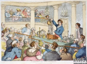 'Chemical Lectures', c 1810.
