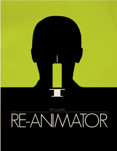 Buy this poster print at: http://fictionalnape.deviantart.com/art/ReAnimator-Poster-359280577